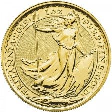 2019 Great Britain 1 Oz Gold Britannia (BU)