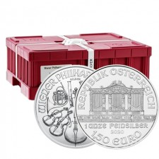 2020 Austria 1 Oz Silver Philharmonic (BU) - Monster Box of 500 Coins