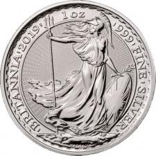2019 Great Britain 1 Oz Silver Britannia (BU)