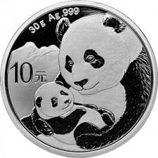 2019 China 30 Gram Silver Panda (In Capsule)