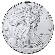 2020 1 Oz American Silver Eagle (BU)