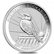 2020 Australia 10 Oz Silver Kookaburra (BU)