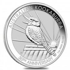 2020 Australia 1 Oz Silver Kookaburra (BU)