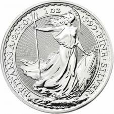2020 Great Britain 1 Oz Silver Britannia (BU)