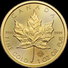 2020 Canada 1 Oz Gold Maple Leaf (BU)