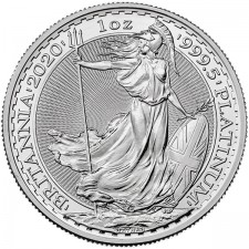 2020 1 Oz Great Britain Platinum Britannia (BU)
