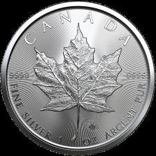 2021 Canada 1 Oz Silver Maple Leaf (BU)