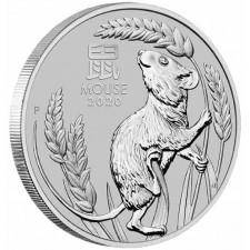 2020 1 Oz Australia Platinum Mouse (BU)