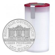2020 Austria 1 Oz Silver Philharmonic (BU) - Tube/Roll of 20 Coins