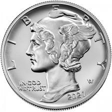 2021 1 Oz American Palladium Eagle (BU)