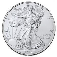 2021 1 Oz American Silver Eagle (BU)