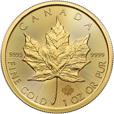 2021 Canada 1 Oz Gold Maple Leaf (BU)