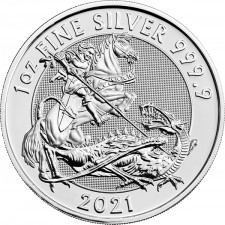 2021 Royal Mint 1 Oz Silver Valiant Coin (BU)