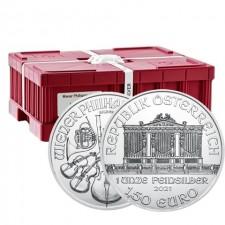 2021 Austria 1 Oz Silver Philharmonic (BU) - Monster Box of 500 Coins