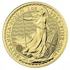 2022 Great Britain 1 Oz Gold Britannia (BU)