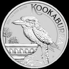 2022 Australia 1 Oz Silver Kookaburra (BU)