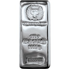 Germania Mint Kilo Silver Bar (New)