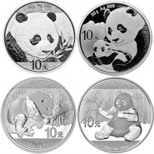 30 Gram Silver Panda (2016-2019 Random Date)