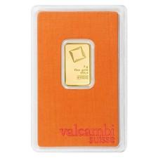 Valcambi 5 Gram Gold Bar (In Assay)