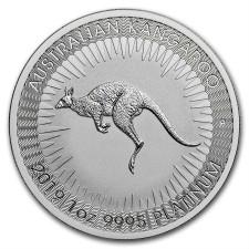 2019 1 Oz Australia Platinum Kangaroo (BU)