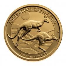 1/2 Oz Australia Gold Kangaroo Reverse