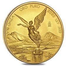 2020 1/10 Oz Mexican Gold Libertad (BU)