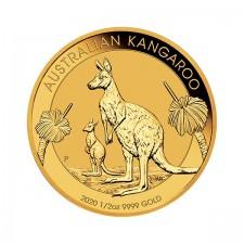2020 Australia 1/2 Oz Gold Kangaroo (BU)