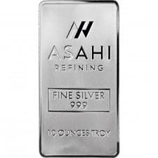 Asahi 10 Oz Silver Bar
