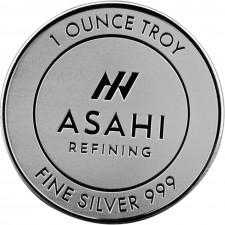 Asahi 1 Oz Silver Round