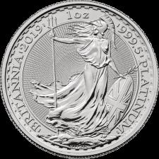 2019 1 Oz Great Britain Platinum Britannia (BU)