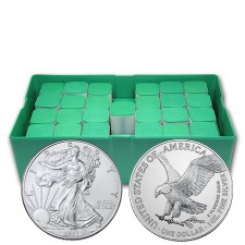 2021 American Silver Eagle Type 2 Monster Box of 500 Coins