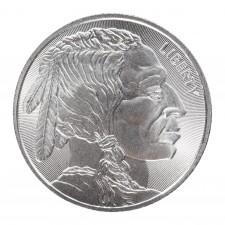 1 Oz Silver Round | Buffalo Radial Design (New)
