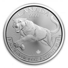 2016 Canada 1 Oz Silver Cougar