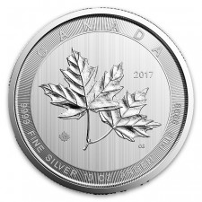 2017 10 Oz Canadian Silver Maple Leaf Coin