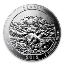 2012 ATB 5 oz Silver Denali National Park (BU)