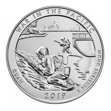 2019 War in the Pacific 5 Oz Silver ATB Coin (BU)