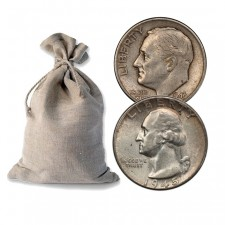 Bag of 90% Silver Coins - $50 Face Value