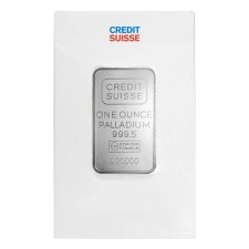 1 oz Credit Suisse Palladium Bar (In Assay)
