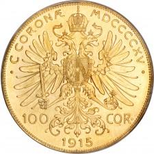 Austria Gold 100 Corona (Random Year)