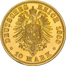 German Gold 10 Mark (Random Year)