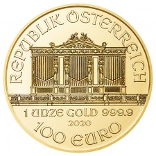 2020 Austria 1 Oz Gold Philharmonic