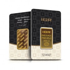 1 Oz Istanbul Gold Refinery Bar (In Assay)