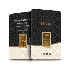 5 Gram Istanbul Gold Refinery Bar (In Assay)