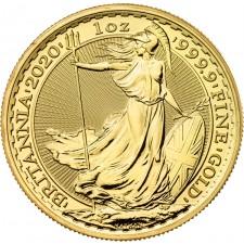 2020 Great Britain 1 Oz Gold Britannia (BU)