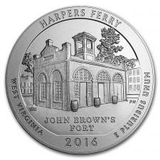 2016 ATB Silver 5 oz Harpers Ferry (BU)