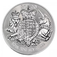 2020 Great Britain 10 oz Silver The Royal Arms (BU)