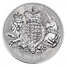 2020 Great Britain 10 oz Silver The Royal Arms (BU)
