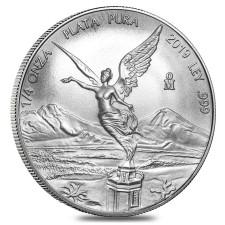2019 1/4 Oz Mexican Silver Libertad Coin (BU)