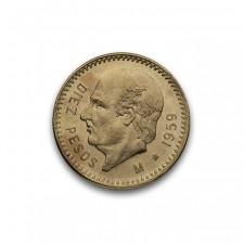 Mexico Gold 10 Pesos (Random Year)