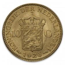 Netherlands Gold 10 Guilders
